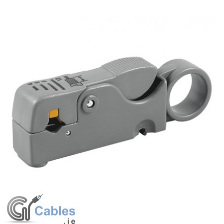 Coax/CAT Cable Stripping Tool