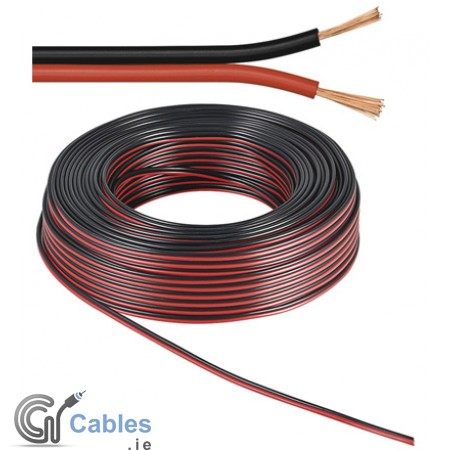 Speaker Cable 2 x 1.5 mm² Black/Red