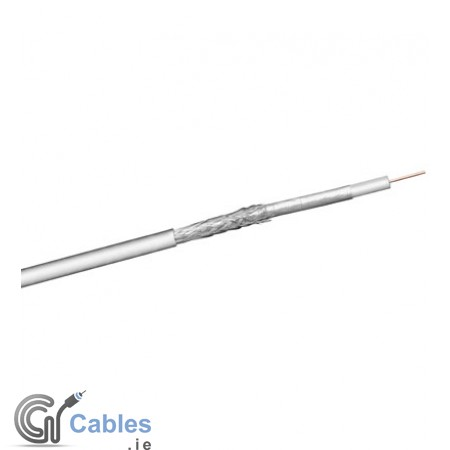 Coaxial Cable (LC) - 100dB 2 x shielded (100m)