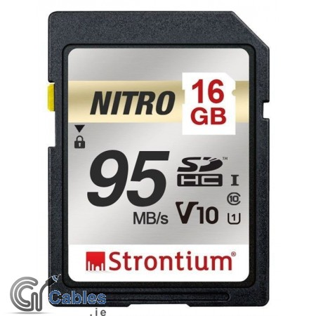 Strontium SD Full-HD Ready with 16 GB
