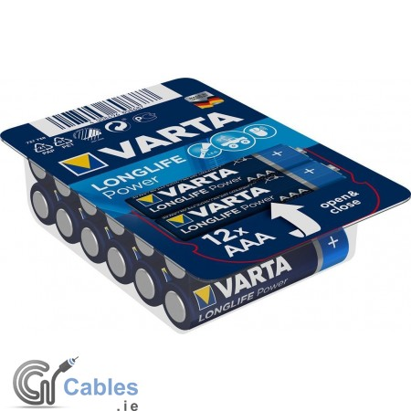 Varta Longlife Power LR6/AA - 24 x AA Batteries