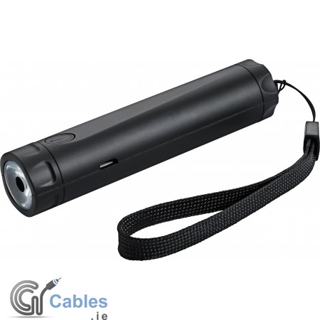Torch with power bank 2600 mAh