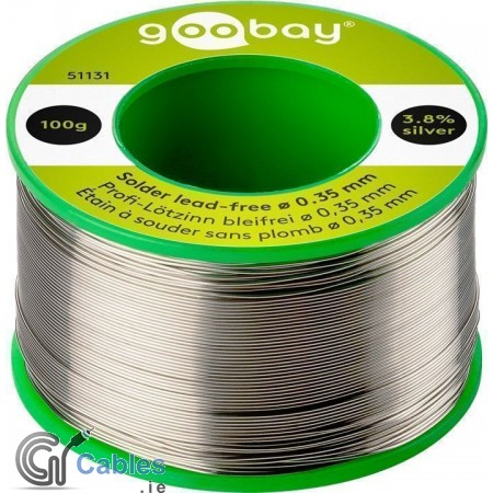 Lead Free Solder ø 0.35 mm 100g Reel