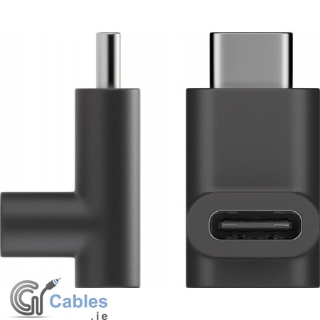 USB-C to USB-C Adapter Right Angle 90°