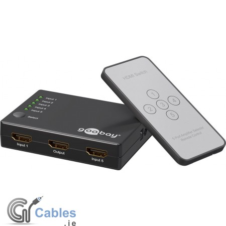 HDMI Switch 5IN/1OUT
