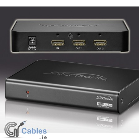 HDMI Splitter 1 IN/2 OUT 3D Cascadable