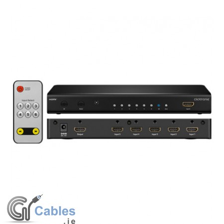 HDMI Switch 6 IN/1 OUT 3D