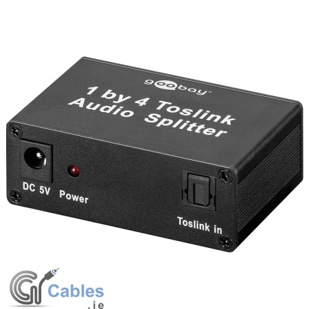 Toslink Audio Splitter 1in/4out