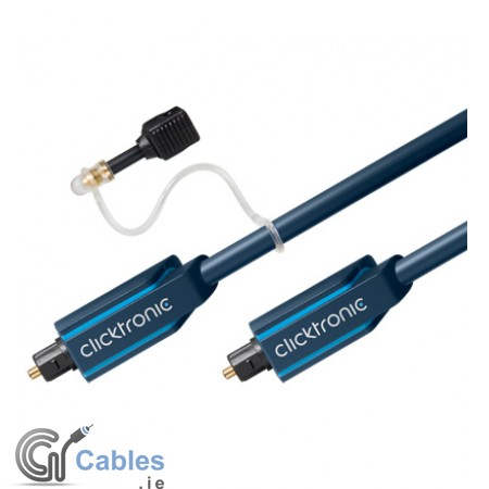 Optical Toslink Cable (with 3.5mm Adapter)