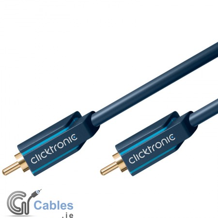 Professional Video (75 Ohm) Cable - RCA to RCA Plug