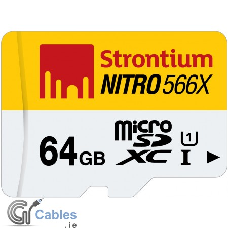 NITRO Micro SD Card 64GB