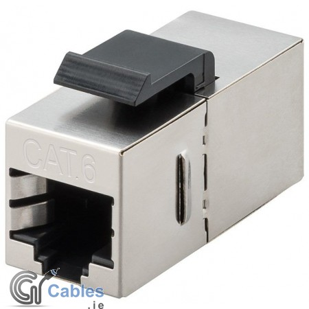 CAT 6 (250MHz) Keystone Jack Coupler - 2 x RJ45 Female/STP
