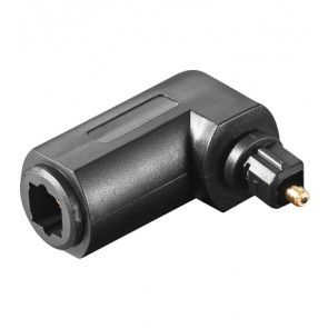 Right angled Toslink Adapter