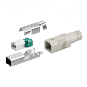 USB B Plug Male Assembly (Crimp)