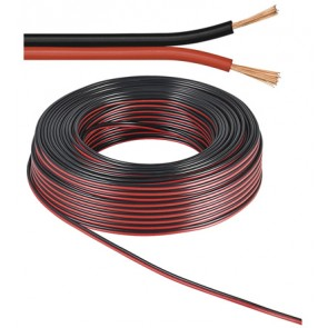 Speaker Cable 2 x 0.75 mm² Black/Red