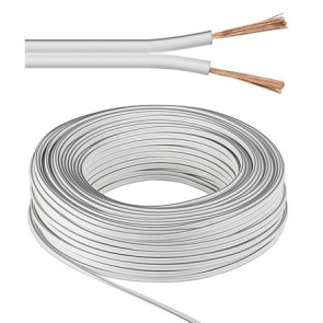 Speaker Cable 2 x 1.5 mm² White