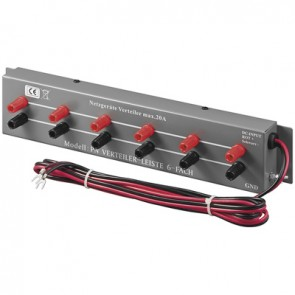 DC 6 Sockets Power Supply Extension max. 20A