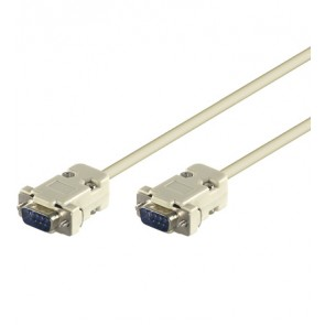 Serial Cable D-SUB 9 pin Male to 9 pin Male - 2m