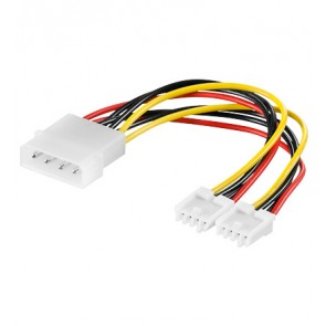 5.25 to 2 x 3.5 Power Y Cable
