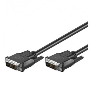 DVI-D (18+1) plug to DVI-D (18+1) plug Single link