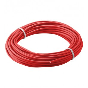Flexible stranded wire 1 x 0.14mm - 10m - Red