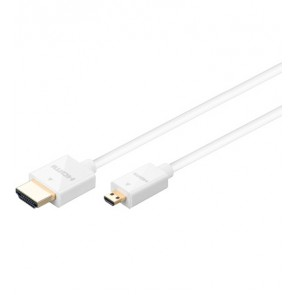Slim Highspeed HDMI micro Cable with Ethernet