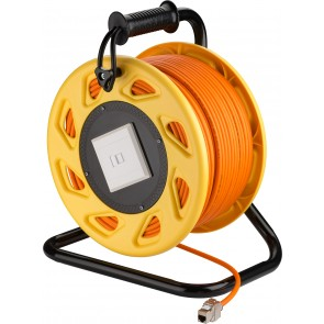 Mobile RJ45 Network Cable Extension Reel