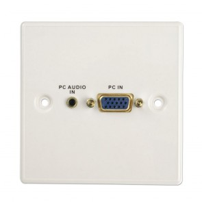VGA/Audio Faceplate