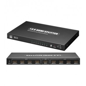 HDMI™ Splitter 1-IN/8-OUT (3D)