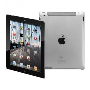 Super Slim Transparent Cover for iPad 2