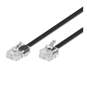 RJ11 to RJ45 Telephone cable - 4 core