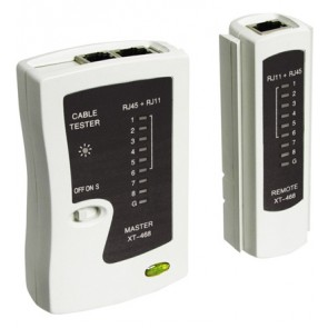 RJ-11/12/45 Cable Tester