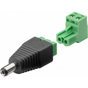 Terminal Block 2-pin > DC male (5.50 x 2.10 mm)
