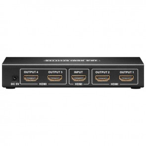 Ultra HDMI Splitter 1-IN/4-OUT (3D + 4K)