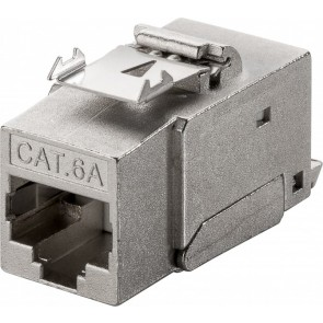 CAT 6a KeyStone RJ45 Jack (Shielded) - 500MHz SNAP-IN