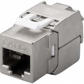 CAT 6a KeyStone RJ45 Jack STP Shielded - 500MHz - Slim Line
