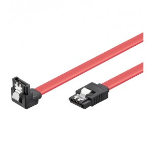 HDD SATA Cable - right angled plug with lock