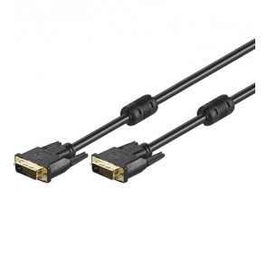 DVI Dual-Link 24+1 Cable Gold plated