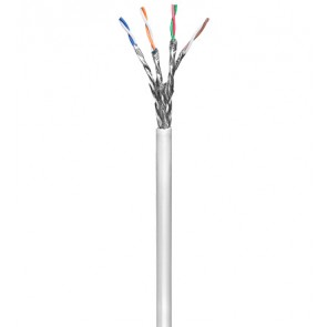 CAT 6 SSTP Solid Cable CCA LSOH (Grey)