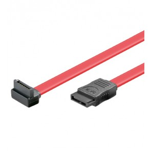 HDD SATA Cable - 1 x 90° right angled Plug