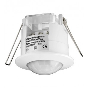 Ceiling Infrared Motion Sensor (Flush Mount)