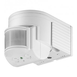 Infrared Motion Sensor Outdoor (Surface Mount) - White