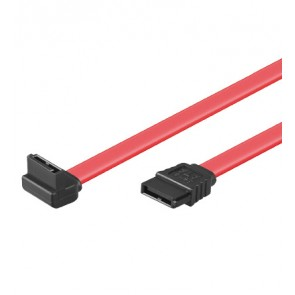 HDD SATA Cable - 1 x 90° right angled L(up)-Plug