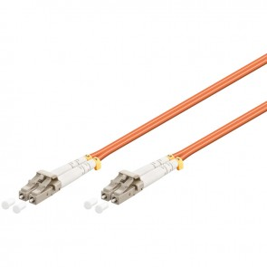LC - LC Multimode Duplex Fibre Patch Cable (OM2 - Orange)